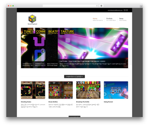 Corona WordPress theme - smartplayland.com