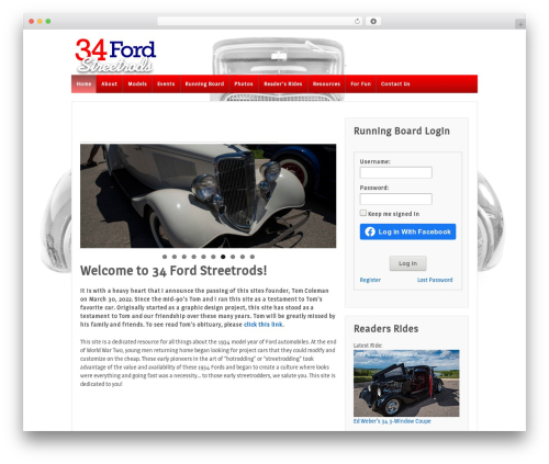 Responsive WordPress theme download - 34ford.com