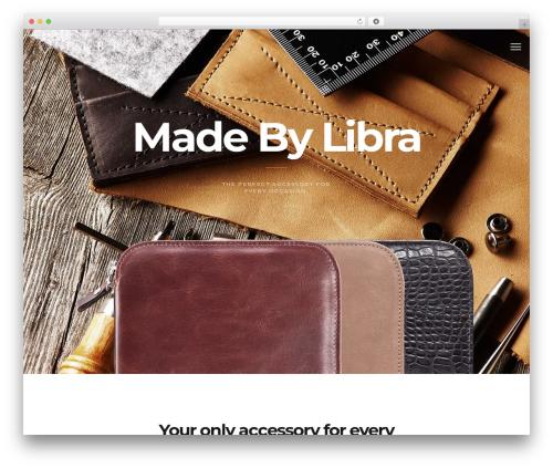 Template WordPress Maven - madebylibra.com