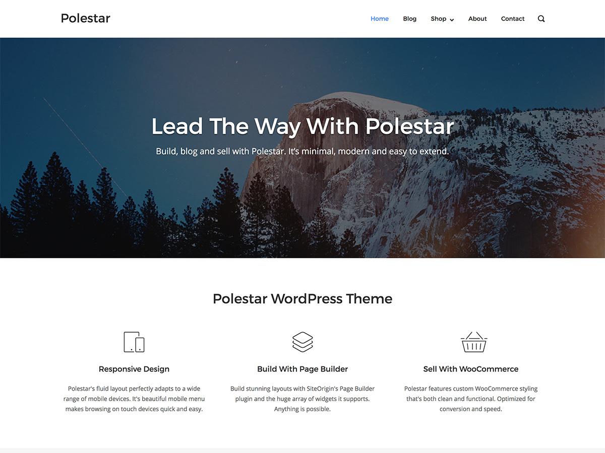 Template WordPress polestar-child