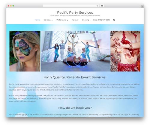WordPress theme polestar-child - pacificpartyservices.com