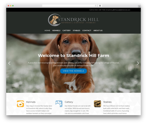 WP template Layers Dawg - standrickhillkennels.com