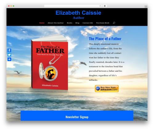 Best WordPress template ChildOfDivi - elizabethcaissie.com