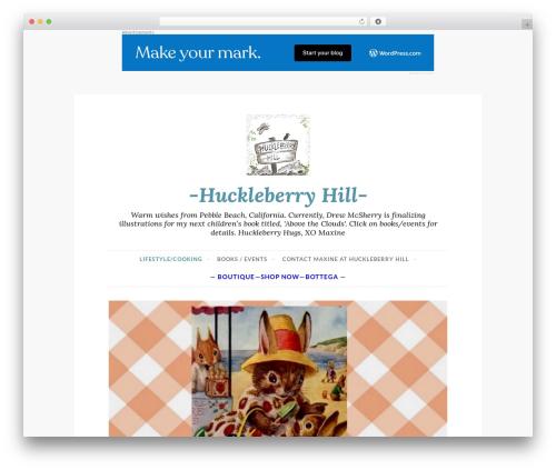 Best WordPress theme Button 2 - huckleberryhilladventure.com