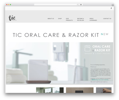 Clean Lite free website theme - tic-design.com