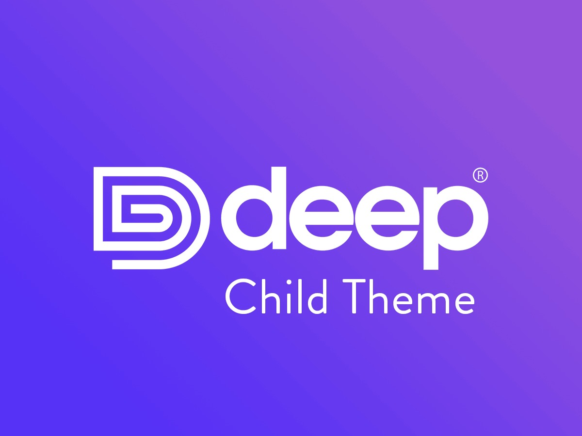 Deep_Child WP template