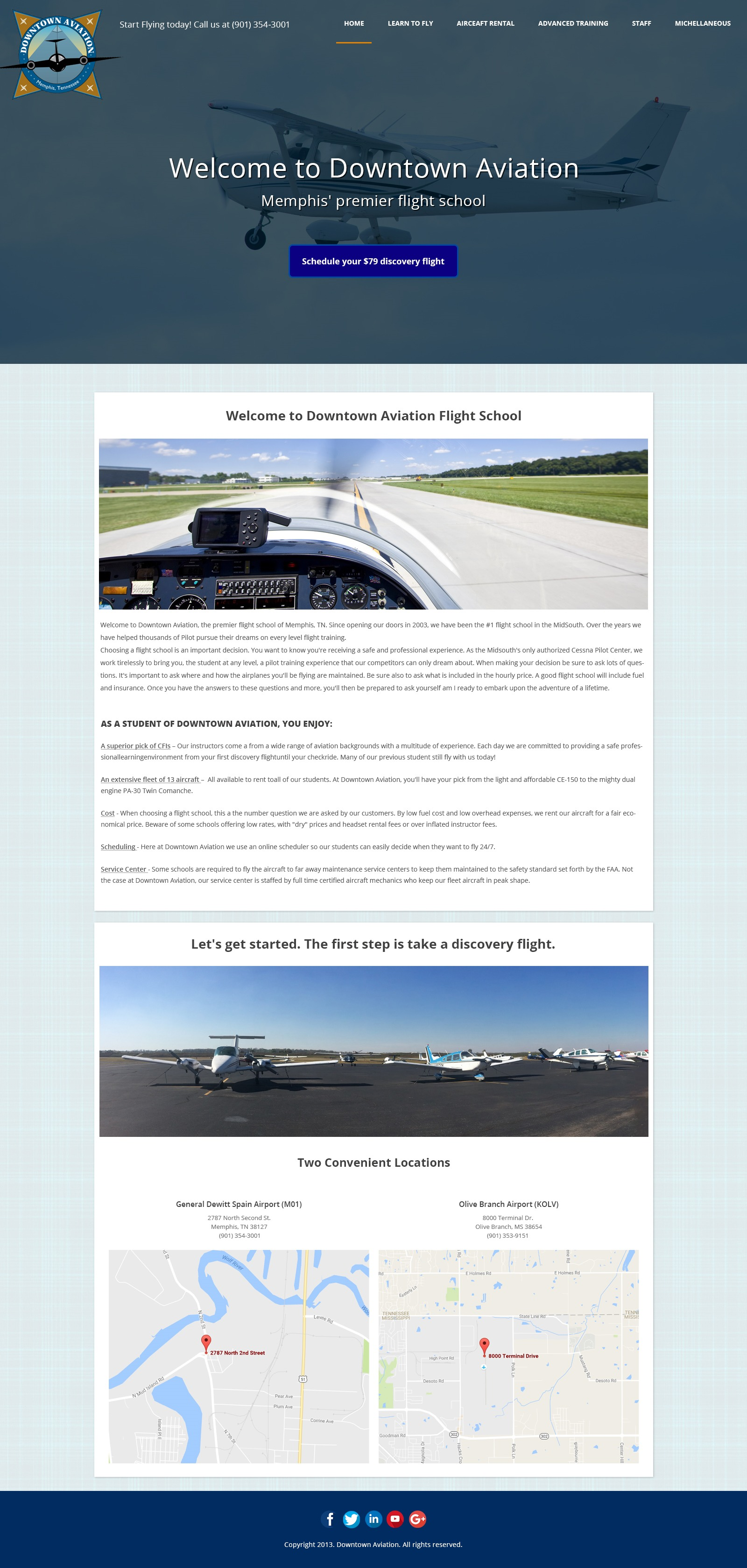 downtownaviation WordPress photo theme