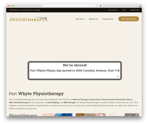 Physio-qt medical WordPress theme by QreativeThemes - page 8