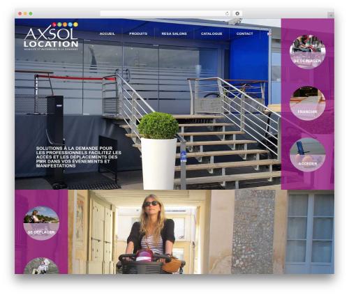 Responsive template WordPress free - axsol-location.com
