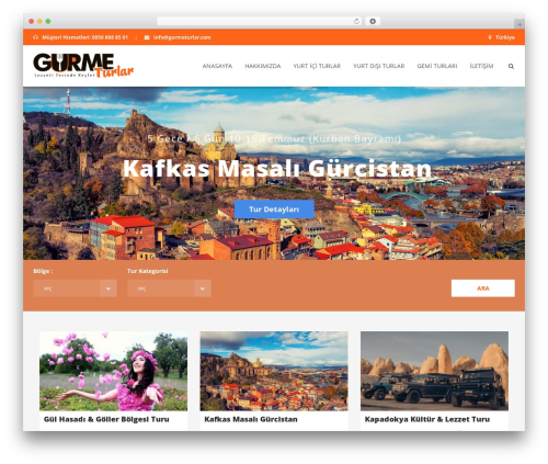WordPress theme Aventura - gurmeturlar.com