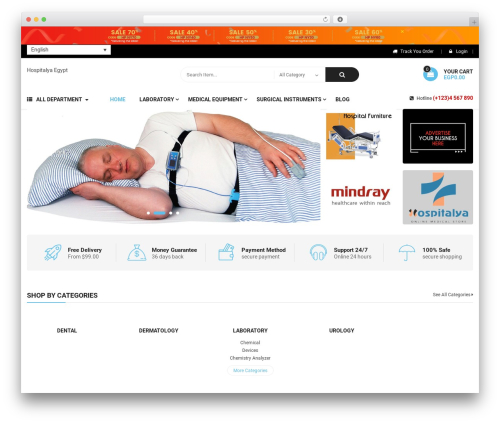 Bosmarket theme WordPress - hospitalya.com