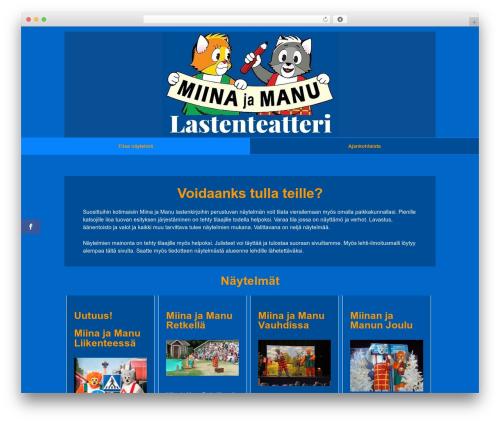 Responsive template WordPress free - lastenteatteri.com