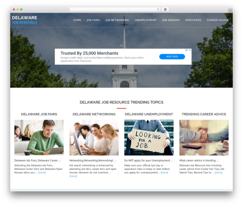 Template WordPress Avion - delawarejobresource.com