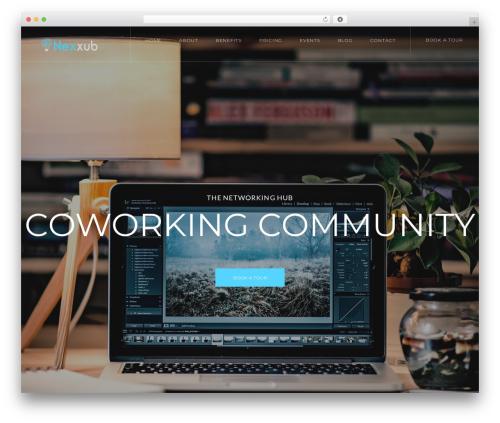 WordPress template CoWorking - nexxub.com