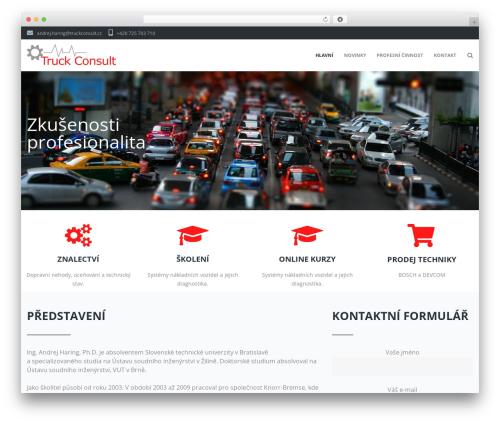Ascendio template WordPress - truckconsult.cz
