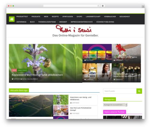 ColorMag WordPress theme - tuttiisensi.de