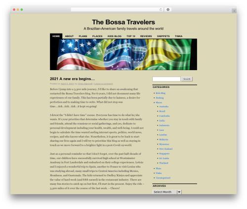 Coraline WordPress travel theme - thebossatravelers.com
