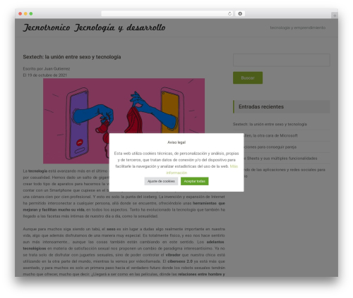 Free WordPress Easy Affiliate Links plugin - tecnotronico.com