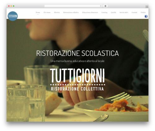 Light Dose WordPress theme - tuttigiorni.org