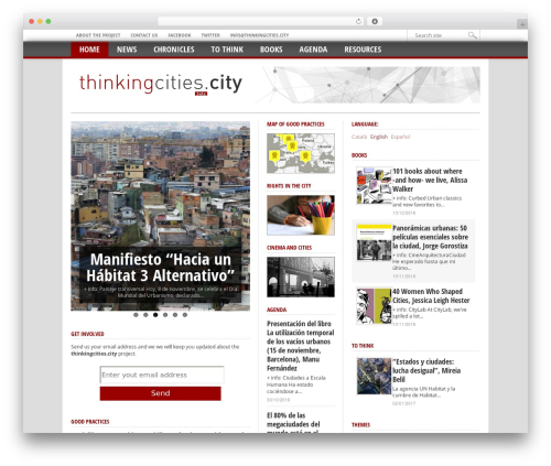 Max Mag Theme WP template - thinkingcities.city