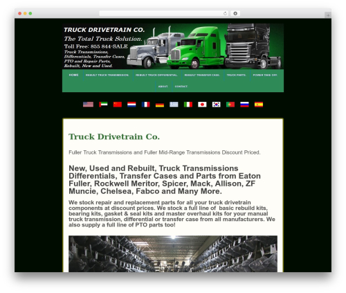 Responsive theme free download - truckdrivetrain.co