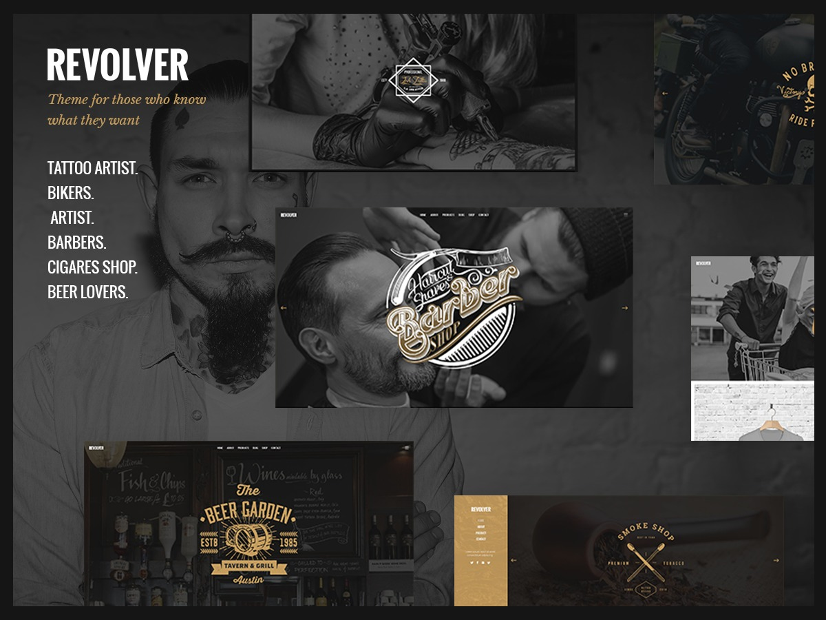 Revolver WordPress shopping theme