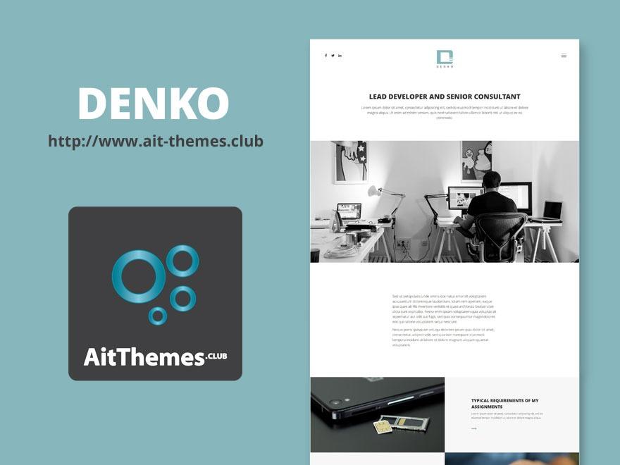 Template WordPress Denko