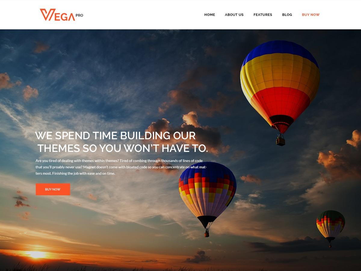 Template WordPress Vega Pro