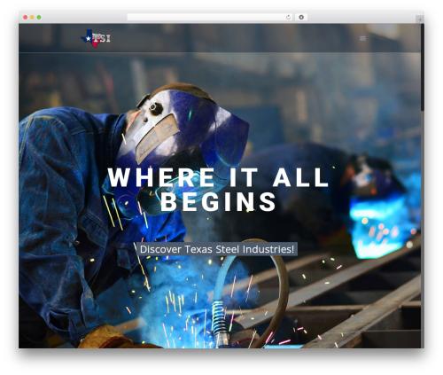 Theme WordPress Betheme - texassteelindustries.com