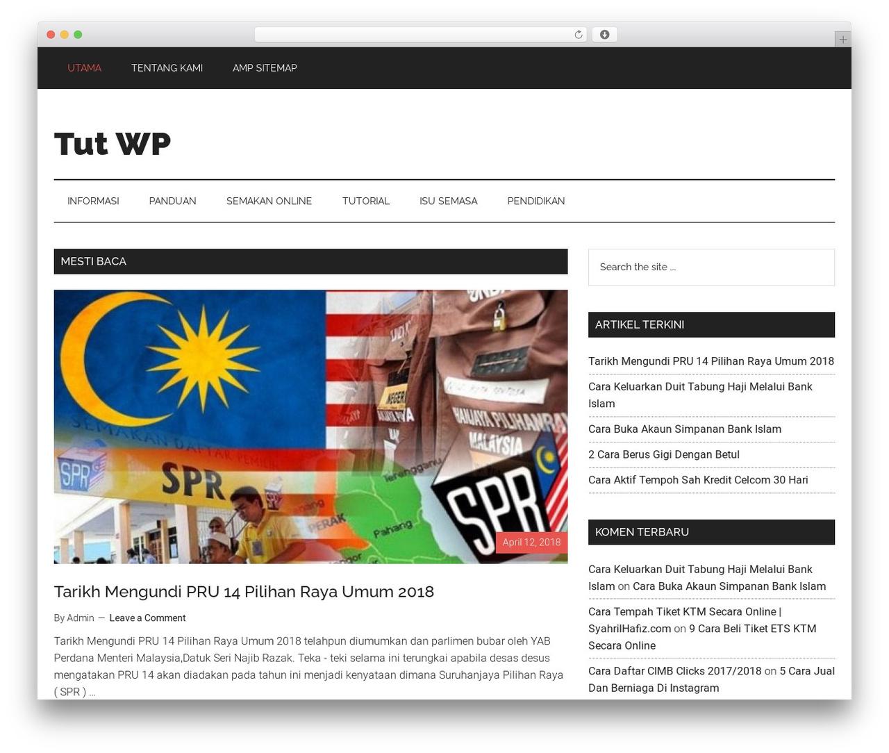 Theme Wordpress Genesis By Studiopress Tutwp Com