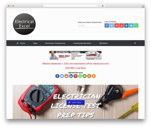 Free WordPress Easy Video Player plugin - texas.electricalexcel.com/texas-live-seminars