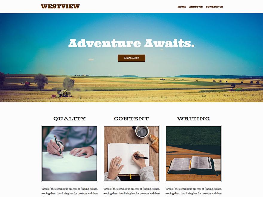 Westview WordPress theme