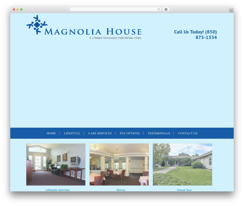Forsyth House Theme WordPress theme - magnoliahouseal.com