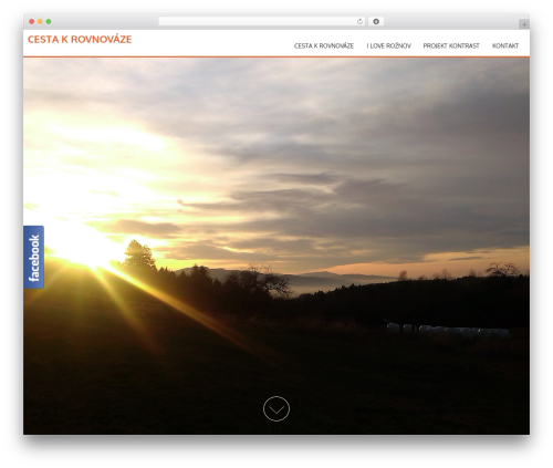 WordPress template AccessPress Parallax - cestakrovnovaze.com