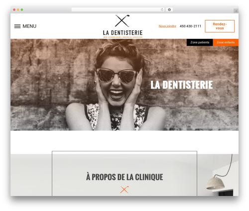 WordPress wp-plogg-website-customizer plugin - la-dentisterie.com