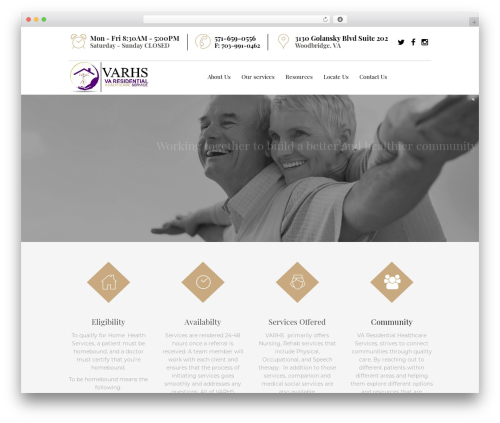 WordPress theme Senior 1.1.2 - varhs.com
