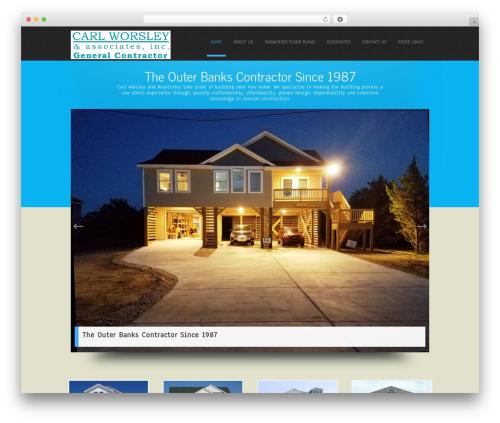 WordPress website template Simplicity Lite - obxbuilder.com