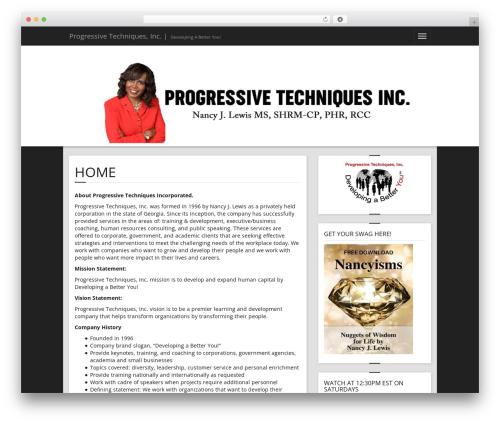 BlazeBlog WordPress theme download - progressivetechniquesinc.com