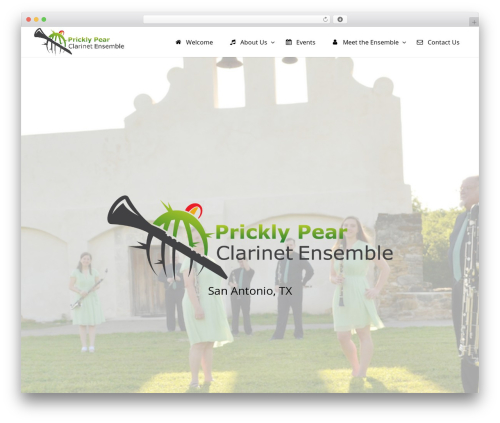 Divi WordPress theme - pricklypearclarinetensemble.com