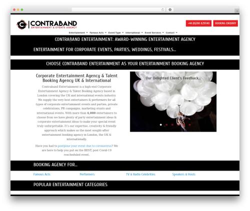 Free WordPress WP SEO HTML Sitemap plugin - contrabandevents.com