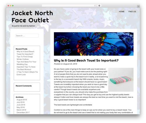 eyesite template WordPress - jacketnorthfaceoutlet.com