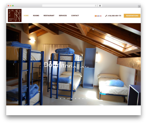 Hotel WP WordPress hotel theme - elpalodeavellano.com