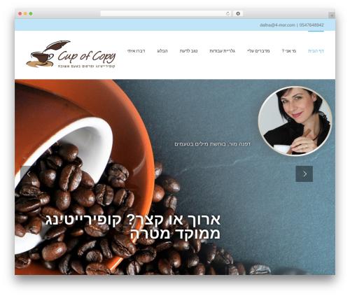 Avada best WordPress template - 4-mor.com