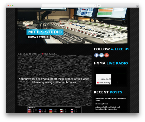 Clubber | Shared By Themes24x7.com WordPress page template - lamourradiotv.com