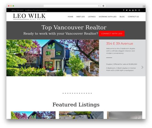 HiiWP best real estate website - leowilkrealestate.com