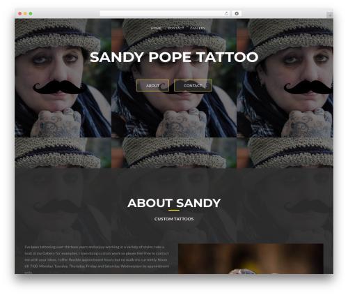 ResponsiveBoat free WordPress theme - sandypope.com