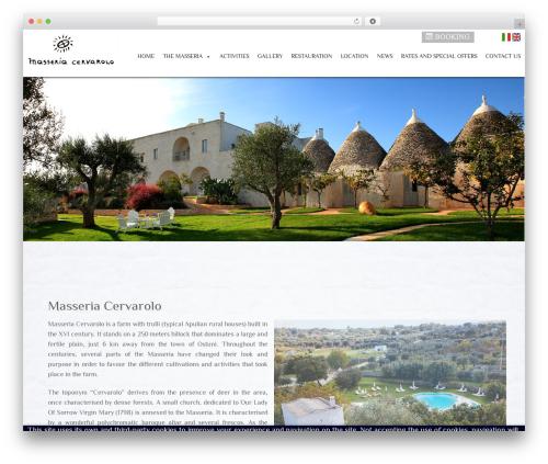 WordPress cff-masonry plugin - masseriacervarolo.com
