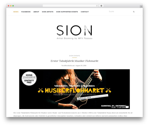 Activello template WordPress free - sion-booking.com