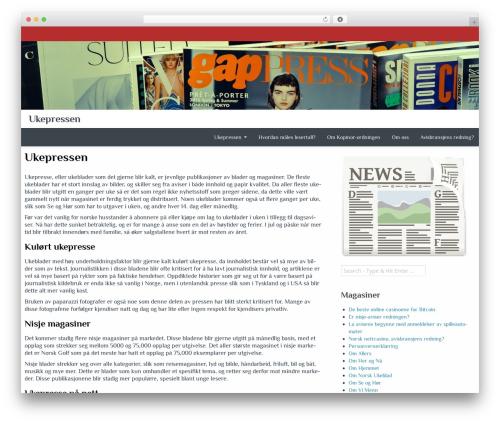 Almasi WordPress page template - ukepressen.com