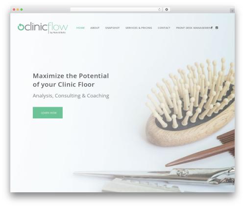 Best WordPress template Bridge - clinic-flow.com